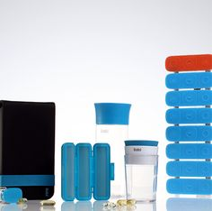 Stylish twist on assistive devices - canes, grab bars, pill organizers etc.