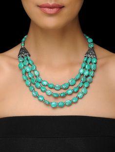 Bead Jewellery, Beaded Jewelry, Jewelry Necklaces, Handmade Jewelry, Beaded Bracelets, Beaded Choker Necklace, Necklace Online, American Jewelry, Necklace Designs