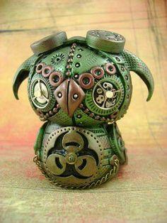 .Steampunk Owl