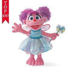 "Sesame Street Abby Cadabby 12"" Doll # 075787 Gund New #GUND"