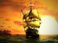 DeviantArt: More Like Pirate Ship by CreatureSink