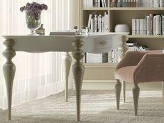 Table de bureau avec 1 tiroir. Mod.PA9419/9410 Writing Desk, Decoration, Office Desk, Entryway Tables, Design, Furniture, Home Decor, House Decorations, Paintings