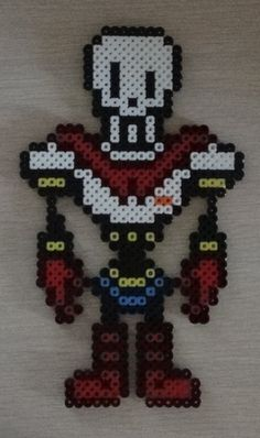 Papyrus - Undertale perler beads  by SuperSensei