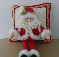 Christmas Sewing, Noel Christmas, Christmas 2019, All Things Christmas, Christmas Stockings, Christmas Ornaments, Holiday Crafts, Holiday Decor, Christmas Cushions