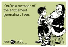 We're Spoiled, But Now We Know It: Decoding the Entitlement Generation