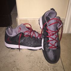 san francisco e0c39 100c9 Jordan Shoes   Chris Paul (Cp3) Basketball Shoes   Color  Black Red   Size   11.5