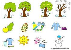 Pracovní listy pro děti: Rok a čas