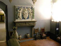 Andrea della Robbia -  Madonna con Bambino e angeli - Museo Stefano Bardini - Firenze
