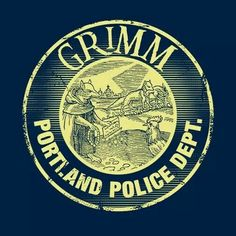 Grimm Portland Police Department from PopUp Tee.com