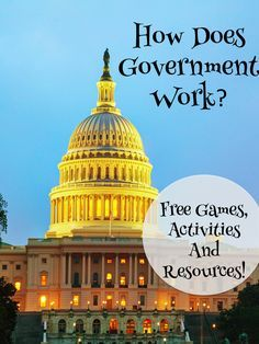 Are you ready to teach about government? Everything you need is on this post! Lots of free games, activites and more!