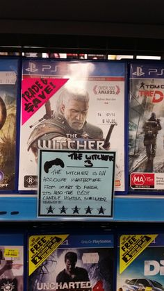Another Witcher 3 review from JB Hi-Fi #TheWitcher3 #PS4 #WILDHUNT #PS4share #games #gaming #TheWitcher #TheWitcher3WildHunt