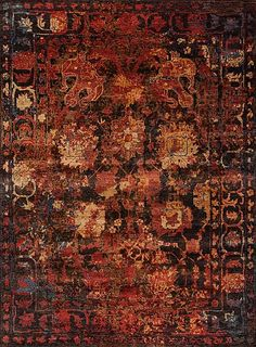 Shangri-La - Utopia - Samad - Hand Made Carpets Orange Rugs, Shangri La, Carpet, Handmade, Hand Made, Rug, Arm Work