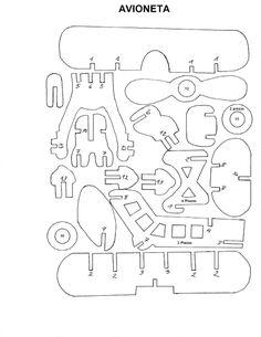 Puzzle 3D en madera + PLANOS YAPA