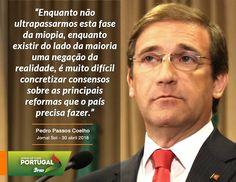 Pedro Passos Coelho, Presidente do Partido Social Democrata em Entrevista ao Jornal SOL #PSD #acimadetudoportugal