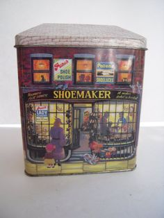 Vintage Punch Shumagic England Collectible Tin by BeckVintage, $10.00