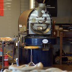 The Probat Roaster at @roc2coffee in Cave Creek AZ. Check out the interview with ROC2 on the web site.