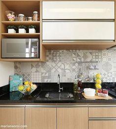 19 Ideas Decor Kitchen Color Arquitetura For 2019 Rustic Kitchen Design, Kitchen Room Design, Kitchen Sets, Interior Design Kitchen, Kitchen Decor, Kitchen Modular, Cuisines Design, Trendy Home, Beautiful Kitchens