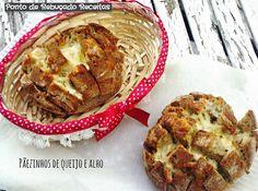 Ponto de Rebuçado Receitas: Pãezinhos de queijo e alho