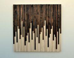 Wood Wall Art Wood Art Reclaimed Wood Art by moderntextures