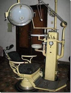 Remember when Dentist equipment looked like this???