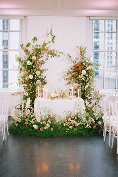 """From the editorial """"It's Official - This Is the Most Epic Rooftop You Can Get Married at in New York City."""" 620 Loft and Garden is as swoon worthy as it gets and today's real wedding proves just that! 