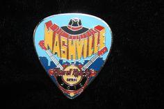 Hard Rock Cafe Nashville Postcard Pick Series 2012 Pin | eBay