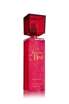 Forever Red Shimmer Mist - Signature Collection - Bath & Body Works