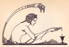 lalicornenoire:    Faust illustration by Harry Clarke
