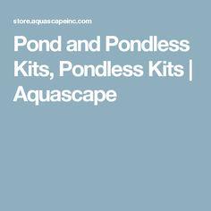 Pond and Pondless Kits, Pondless Kits| Aquascape