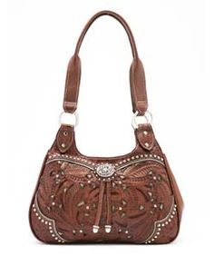 Brown Western Style Purse