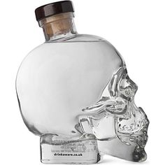 CRYSTAL HEAD VODKA Vodka 700ml #gifts #ideas #goth Vodka Drinks, Party Drinks, Alcoholic Drinks, Beverages, Cocktails, Distilled Beverage, Crystal Head Vodka, Dont Drink And Drive, Alcohol Content