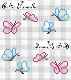 Thrilling Designing Your Own Cross Stitch Embroidery Patterns Ideas. Exhilarating Designing Your Own Cross Stitch Embroidery Patterns Ideas. Butterfly Cross Stitch, Mini Cross Stitch, Cross Stitch Bookmarks, Cross Stitch Animals, Cross Stitch Flowers, Cross Stitching, Cross Stitch Embroidery, Embroidery Patterns, Hand Embroidery