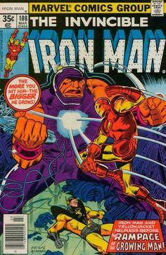 Invincible Iron Man 108 Marvel 1978 VF Jack Of Hearts Yellowjacket Spider-Man Ad Marvel Comics Superheroes, Marvel Comic Books, Dc Comics, Hulk Comic, Marvel Marvel, Marvel Characters, Comic Book Pages, Comic Book Covers, Tony Stark