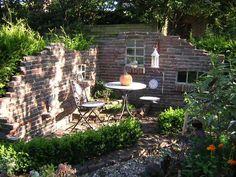 kamin grillplatz pflaster steine kunstrasen garten gestalten, Garten und erstellen
