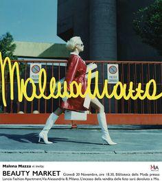Milano, Biblioteca della Moda: Beauty Market – Malena Mazza