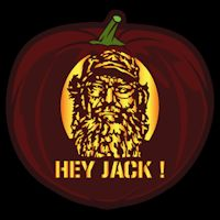 Si Robertson CO - Pumpkin Carving Patterns - Duck Dynasty