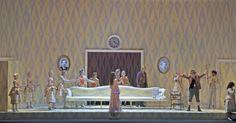 DerRosenkavalier. Glyndebourne Festival. Scenic design by Paul Steinberg.