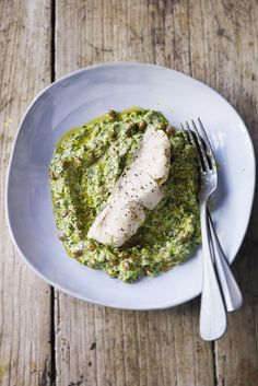 Great if you're looking for a quick dish that is low in fat, this hake with curried yogurt lentils is not only low in fat but also contains 2 of your 5 a day.