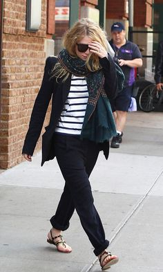 13 Ways To Wear Stripes Like The Olsen Twins #style #fashion #olsentwins