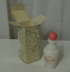 Vintage Avon To A Wild Rose Perfume Bottle