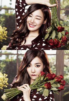 StyleKorea: The Art of Korean Fashion : Photo Snsd Tiffany, Tiffany Hwang, Girls' Generation Tiffany, Girls Generation, Sooyoung, Yoona, Kim Tae Yeon, Young Ones, Korean Actresses
