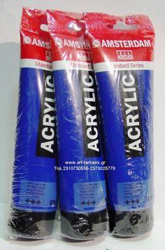 ΑΚΡΥΛΙΚO Phthalo blue 570 120ML Amsterdam Acrylic