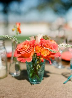 Perfect colors.   Photography by michaelandannacosta.com/, Event Planning and Design by kellyoshirodesign.com/