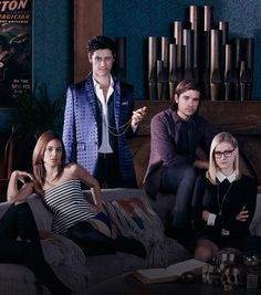 Based upon Lev Grossman's best-selling books, The Magicians stars Jason Ralph (A Most Violent Year, Aquarius) as Quentin Coldwater, a brilliant grad student who enrolls in Brakebills College for Magical Pedagogy, a secret upstate New York university specializing in magic.