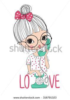 Cute Love Vectores en stock y Arte vectorial | Shutterstock
