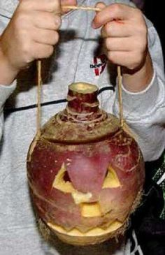 Turnip Lanterns We used to make them for Halloween 🎃 in the Brownies. I can still smell and taste the raw turnip. 1980s Childhood, My Childhood Memories, Nice Memories, Samhain, Halloween Lanterns, The Good Old Days, Pagan, Wiccan, Magick