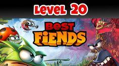 Best Fiends Level 20 Battlegrounds