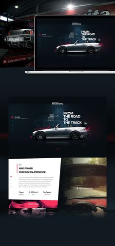 Honda S2000 Web Concept on Behance