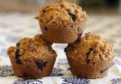 Glorious {Gluten-Free} Blueberry Streusel Muffins