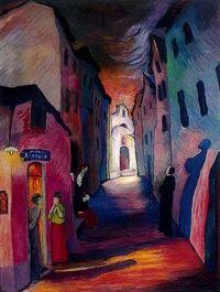 Marianne von Werefkin Ave Maria c. Wassily Kandinsky, Paul Gauguin, Henri Matisse, Claude Monet, George Grosz, August Macke, Franz Marc, Expressionist Artists, Max Ernst